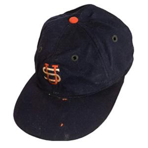 7519ebf918a 1934 Lou Gehrig Tour of Japan Game Worn Cap
