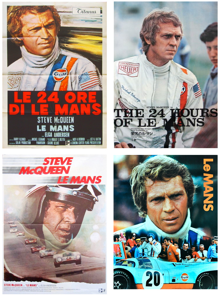 steve mcqueen le mans movie posters megadeluxe. Black Bedroom Furniture Sets. Home Design Ideas