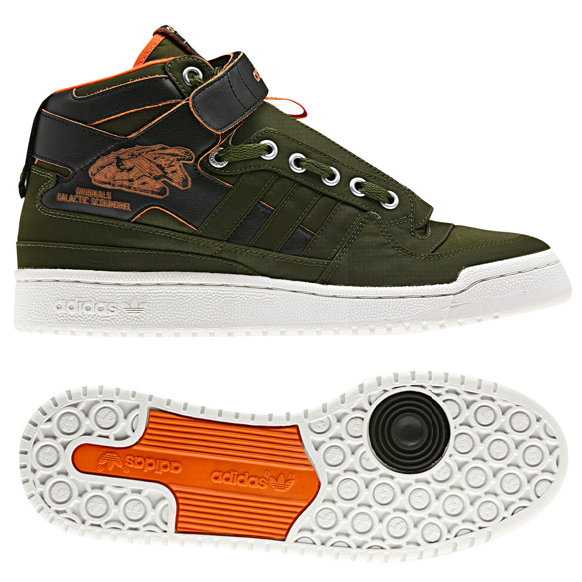 separation shoes f4eb7 8516a Star Wars Forum Mid Shoes  Adidas