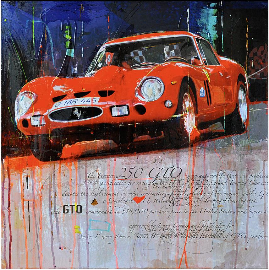 A pair of ferraris racing legends markus haub for Garage ford mulhouse