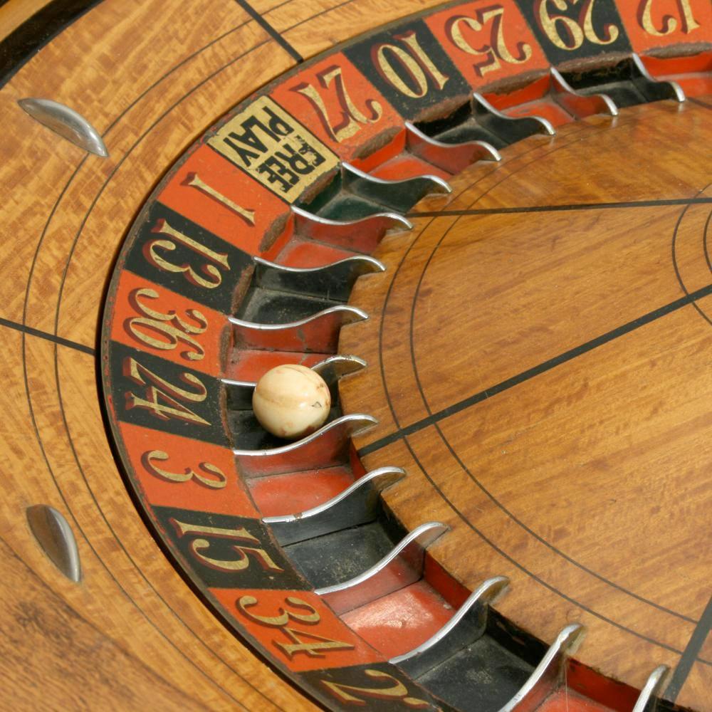 Antique Roulette Wheel Manfred Schotten Antiques