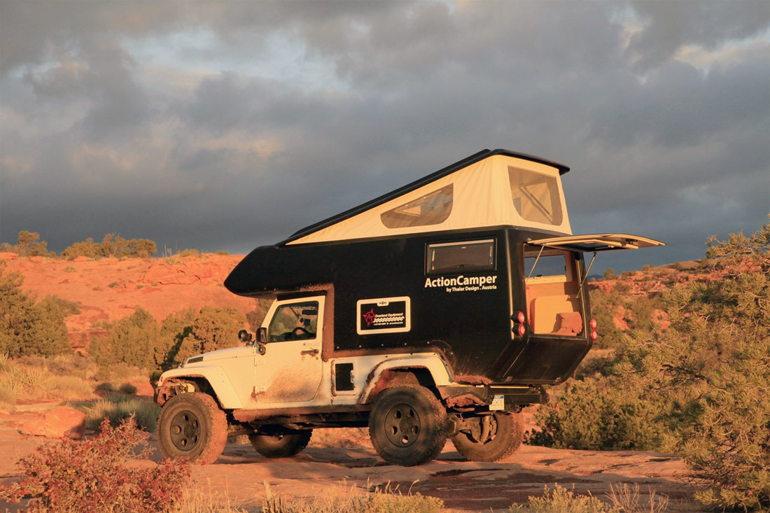 The Jeep Actioncamper Megadeluxe For The Love Of Speed
