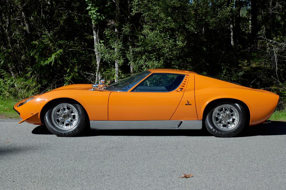 1968 Lamborghini Miura P400 Spirited Automobiles
