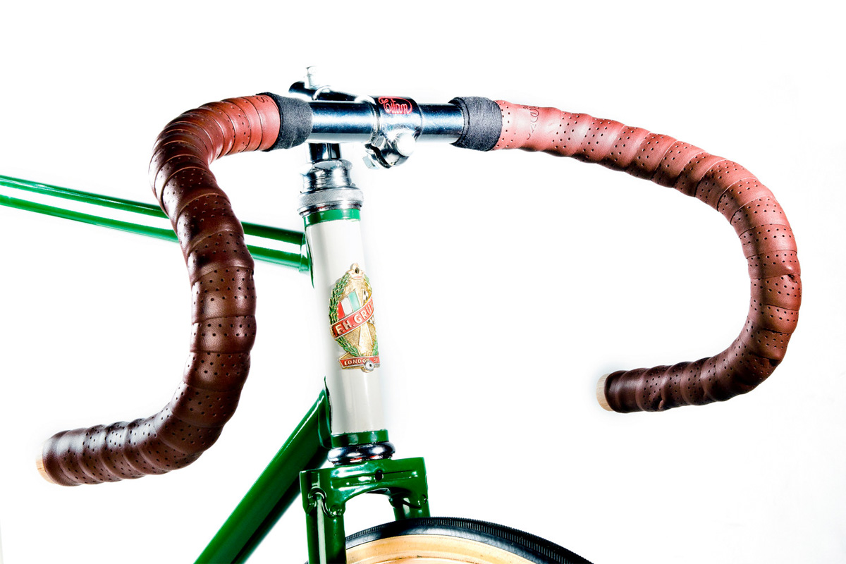 Vintage Track Bike Freddie Grubb Frame