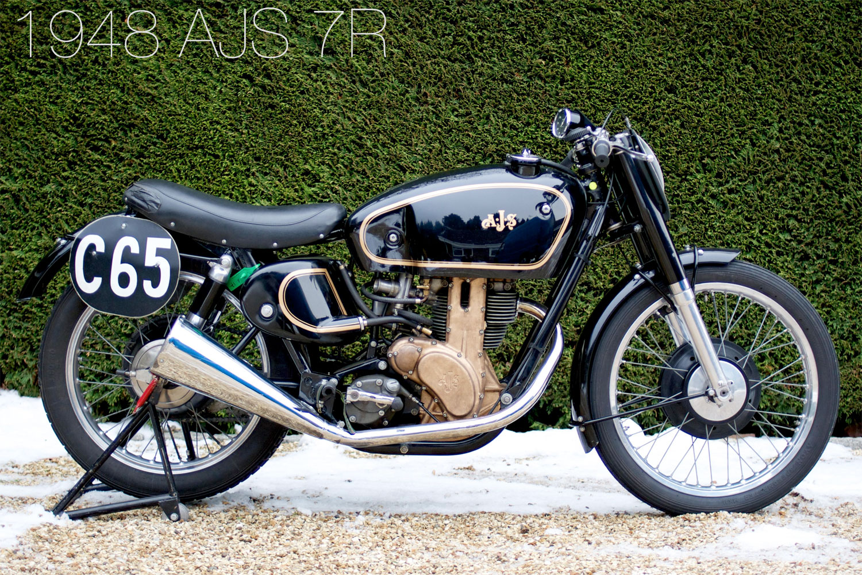 Bonhams 1948 AJS 7R Megadeluxe