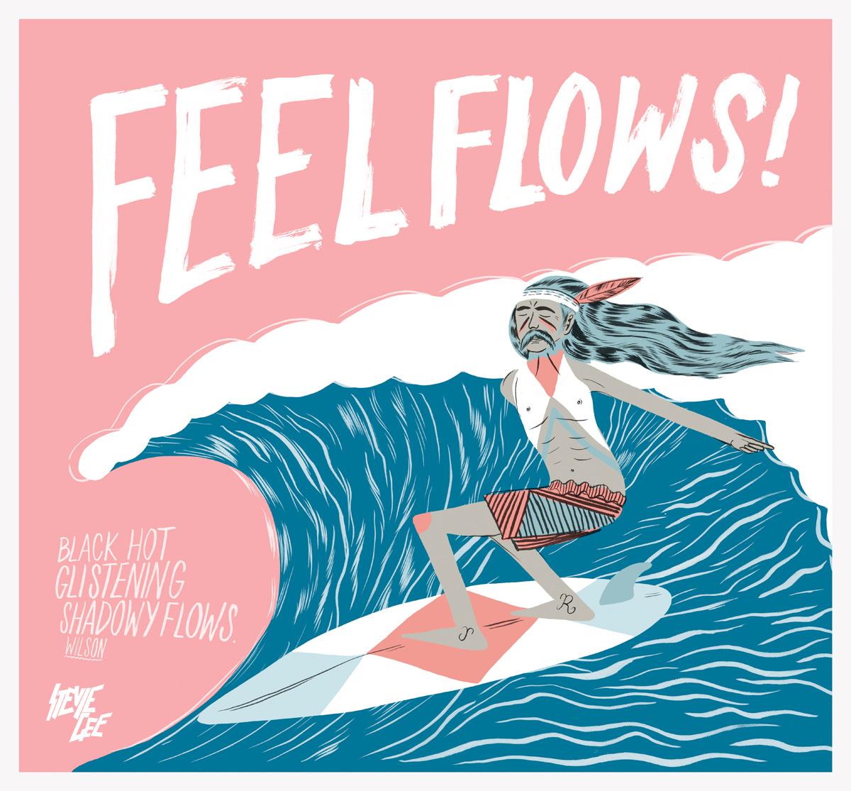 FEEL FLOWS ~ BEACH BOYS ~ LYRICS - YouTube