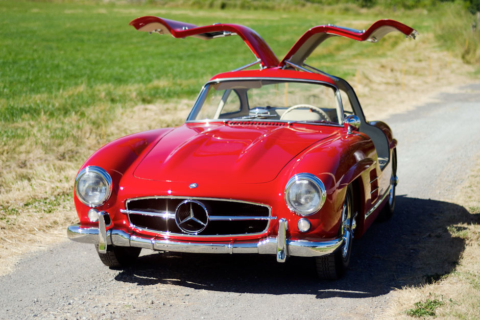 1955 mercedes benz 300sl gullwing spirited automobiles for Mercedes benz 300sl gullwing for sale
