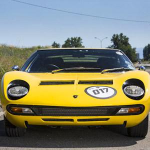 1972 Lamborghini Miura SV Coupé